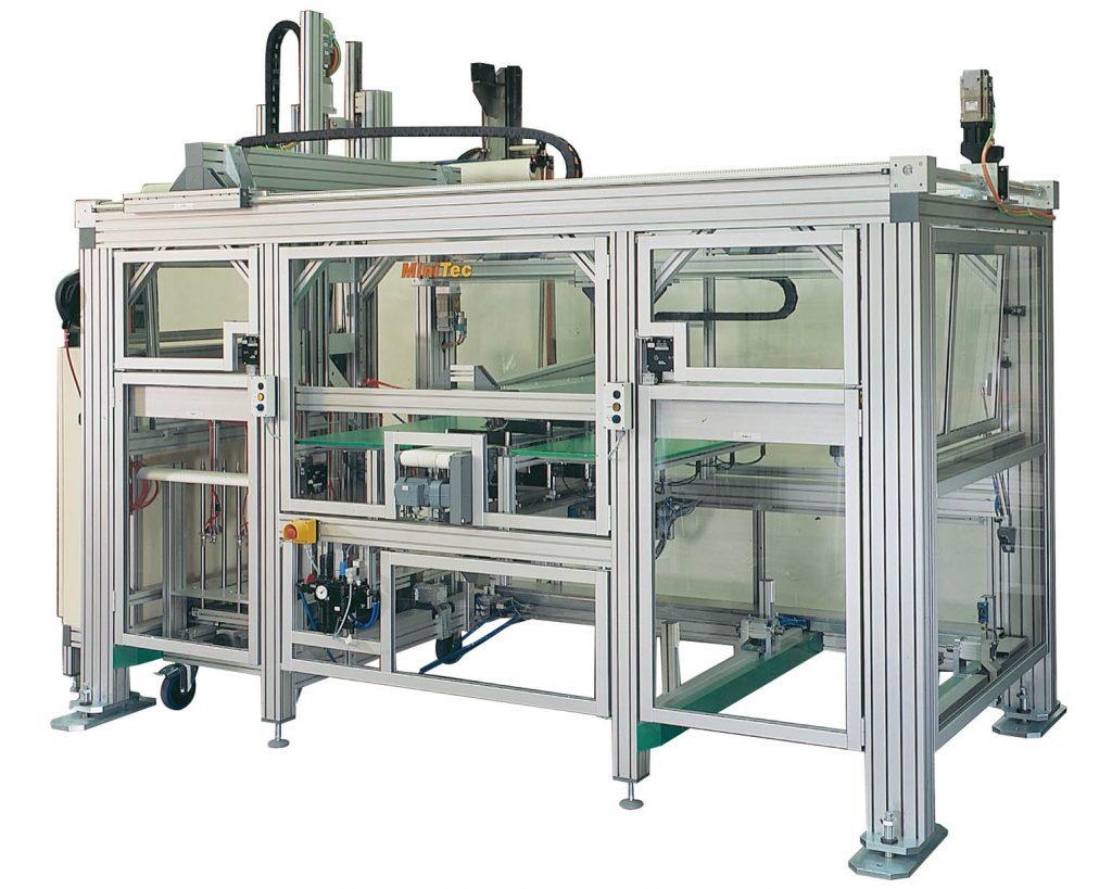 nhôm định hình trong sản xuất máy công nghiệp