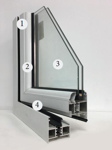 Nhôm định hình trong dân dụng- ứng dụng làm cửa kính siêu bền
