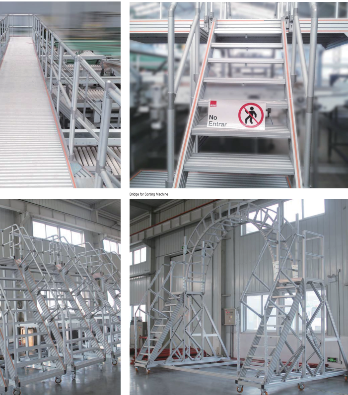 Anttek cung cấp cầu thang trong dân dụng và công nghiệp theo mẫu mã yêu cầu