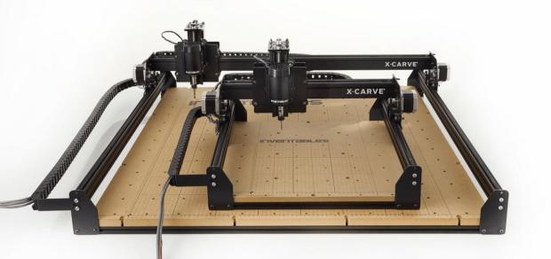 Khung máy CNC nhôm định hình anod đen