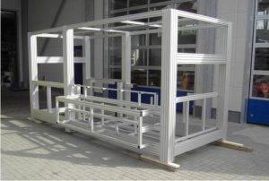 Khung máy nhôm định hình