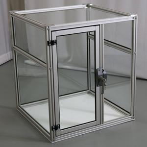 Tủ kính nhôm định hình